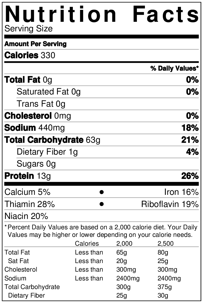 Whole Foods Bagel Nutrition Facts